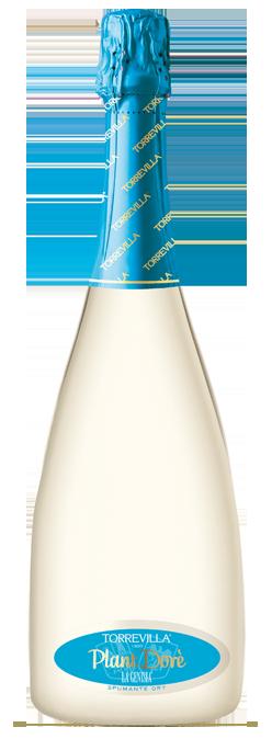 La Genisia Pinot Nero Chardonnay Plant Dorè - spumante metodo Charmat Dry
