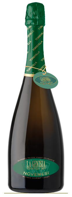 La Genisia Brut Pinot Nero Novemesi - spumante metodo Charmat DOP