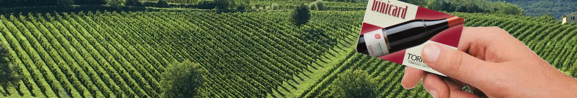 Vinicard: carta fedeltà Torrevilla per sconti speciali su vini e prodotti gastronomici alle Botteghe del Vino