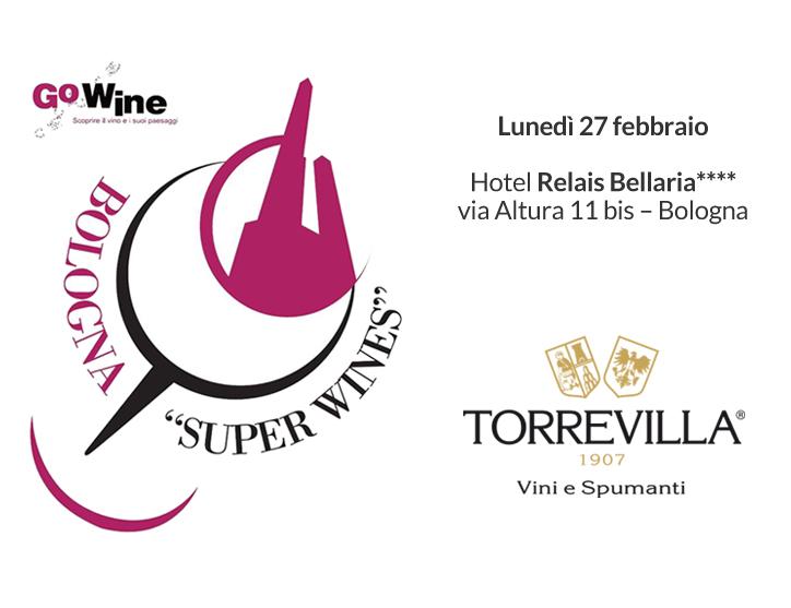 Torrevilla al Bologna Super Wines con i vini e spumanti La Genisia
